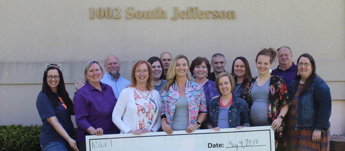 2018-2019 Teacher Innovation Grant Winners with KSDEF Board Members